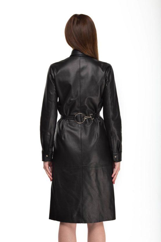 платье женское кожаное GESNOUIN