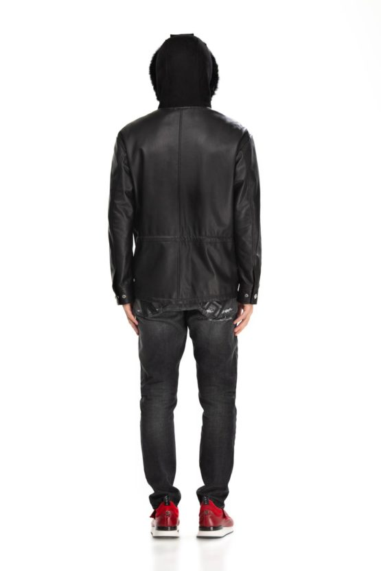 Куртка кожаная KANE