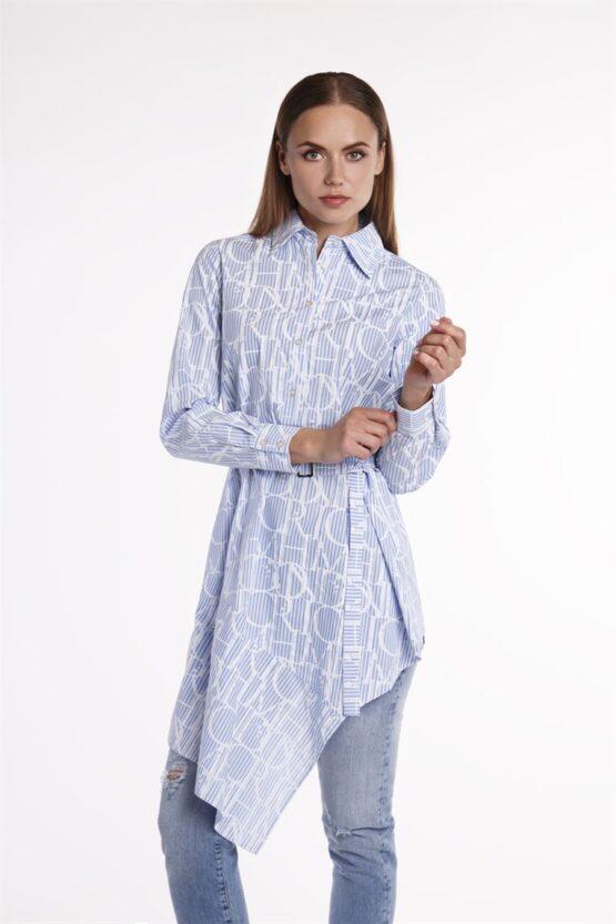 Рубашка длинная женская YVONNE