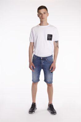 Шорты-бриджи мужские джинсовые SNAPE(SID)