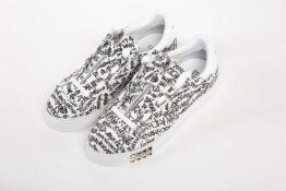 Обувь мужская CANVAS LOGO BIANCO/LOGO