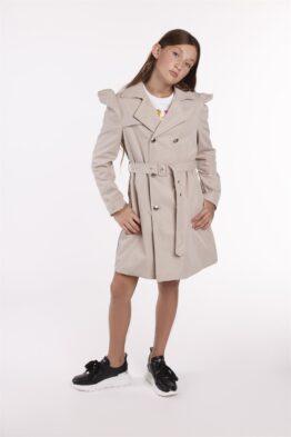 Пальто-тренч детское длинное CALLAGAN